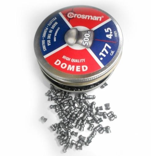Пули пневматические Crosman Domed 4,5 мм (500 шт.)