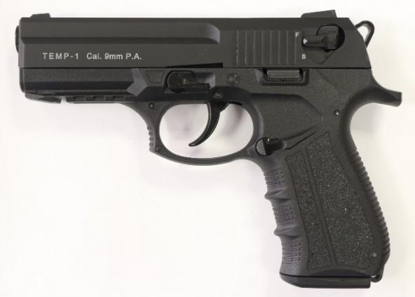 Пистолет ТЕМП-1 к.9 мм. Р.А.