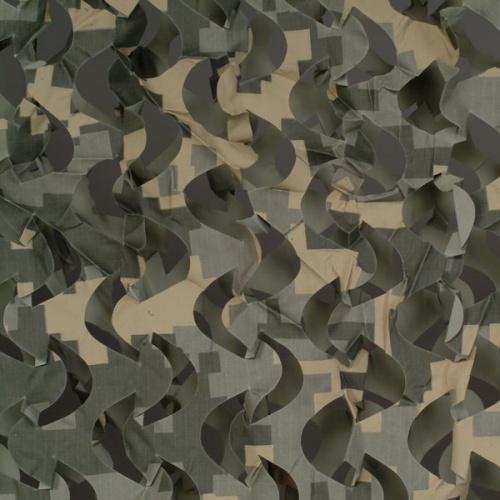 Сеть маскир. Пейзаж ''Полынь 3D''(2,4x6м) ПП-6