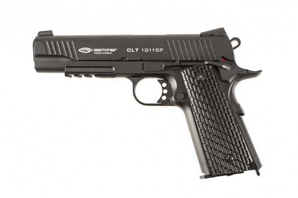 Пневматический пистолет Gletcher CLT 1911 SP