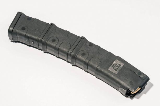 Маг-н Pufgun наСайга-9/ПП-Витязь 9×19 30п чёрн.