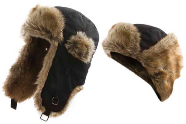 Шапка Alaskan смеховой отделкой (В346)