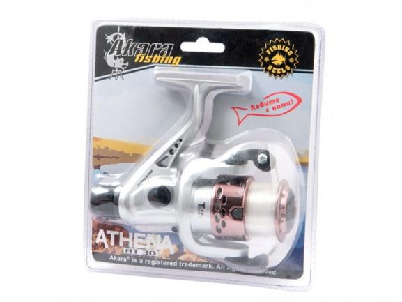 Катушка для рыбалкиAkara Athena АТ30 3bb слеской вблист.