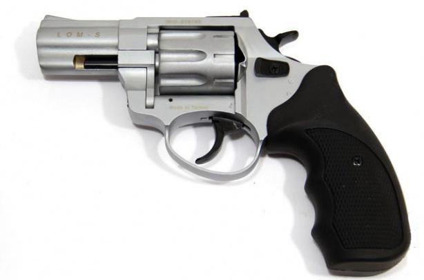 Револьвер сигнальный LOM-S 5,6×16 хром