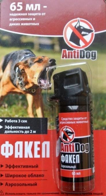 Баллон аэроз. ''AntiDog Факел'' 65мл.