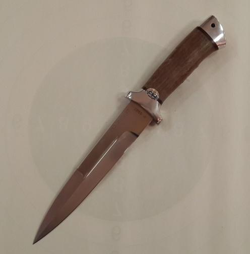 Нож охотничий ''Рысь'' дерево 100×13м