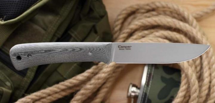 Нож ''Camper'' микарта