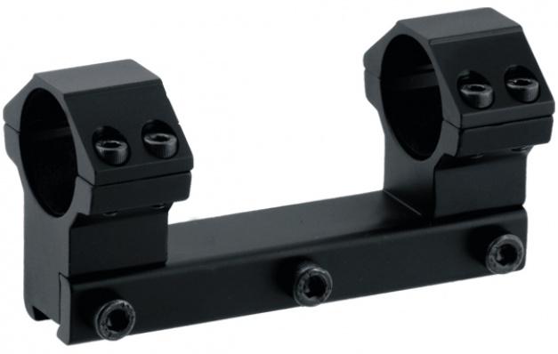 Кронштейн LEAPERS AccuShot с кольцами 25.4 мм. (высокий) для уст. на призму 10-12 мм.