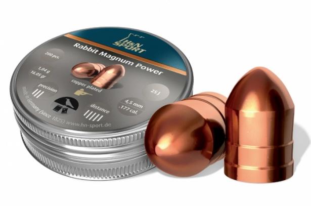 Пули для пневматики H&N Rabbit Magnum Power 4,5 мм1,04 грамма (200 шт.)