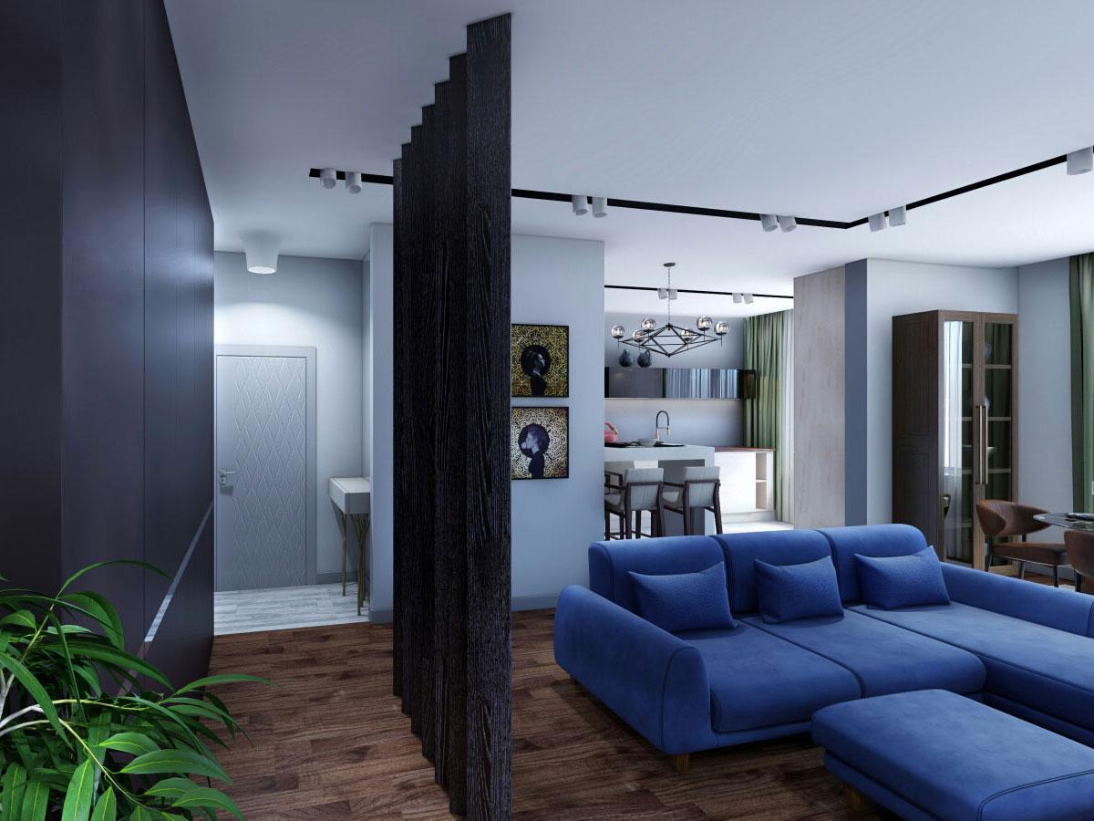 Дизайн интерьера ванной комнаты в современном стиле
