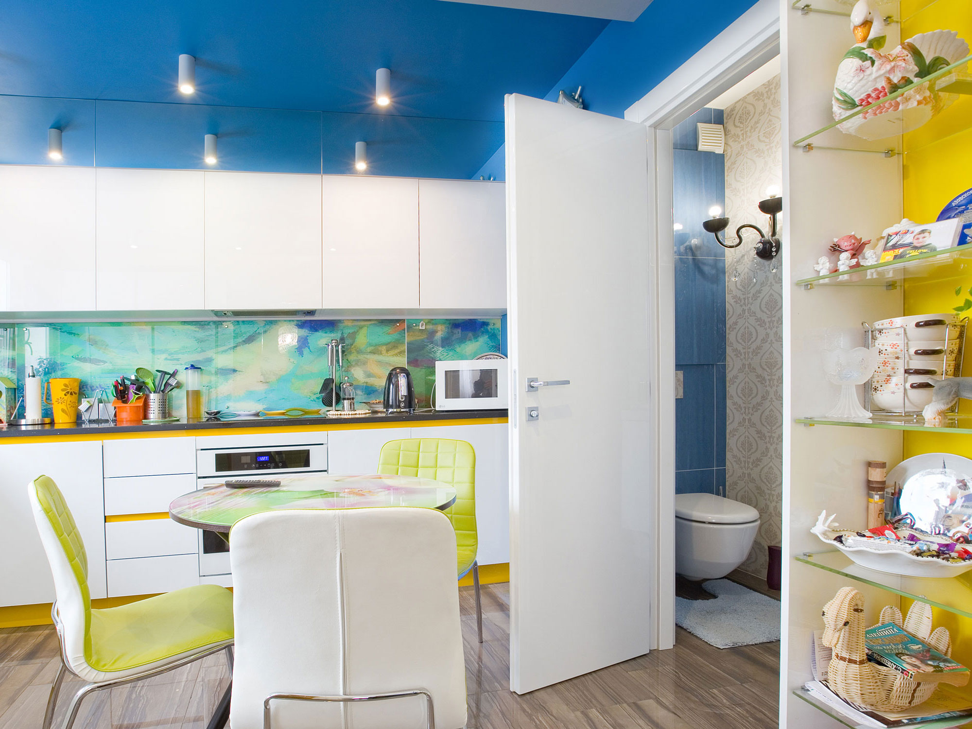 Дизайн интерьера ванной в современном стиле