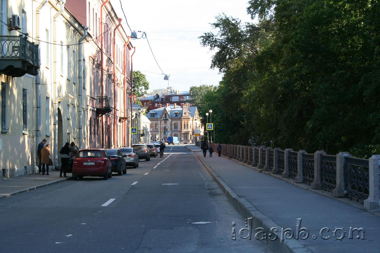 Архитектура на Ново-Адмиралтейском канале