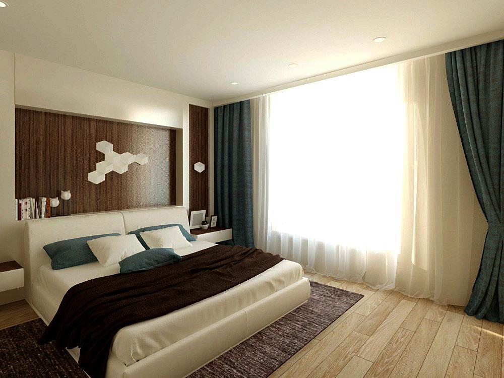 Дизайн интерьера спальни в квартире в современном стиле