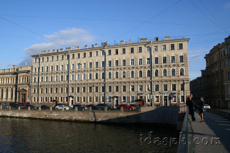 Архитектура Санкт-Петербурга. Набережная Фонтанки.