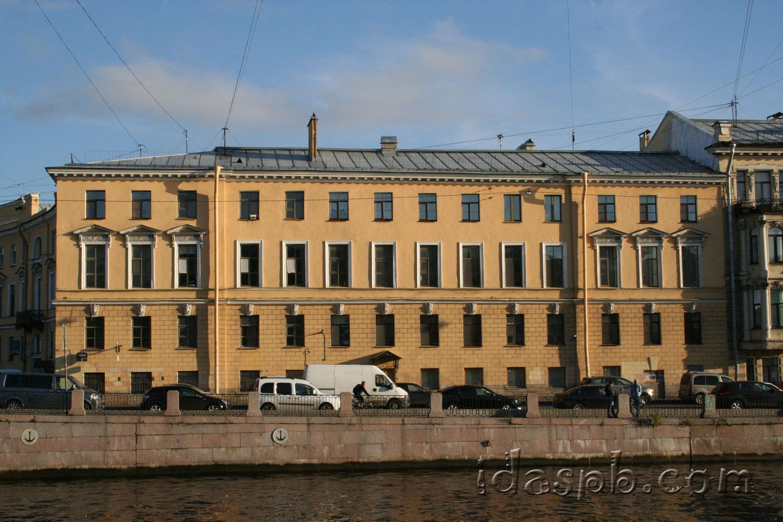 Архитектура Санкт-Петербурга. Фонтанка.