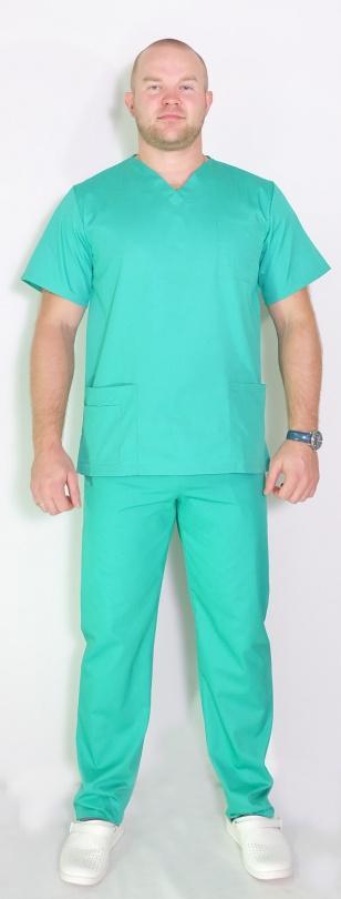 Медицинский мужскойкостюмарт. Лекарь