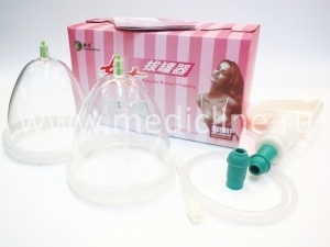 Набор для вакуум-массажа C1×2 M (Female Series Cupping).