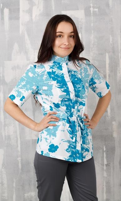 Женская медицинская блуза арт. Элина