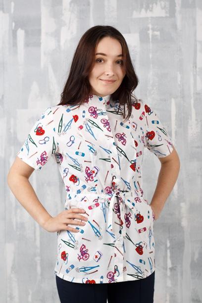 Медицинская блуза арт. Виола
