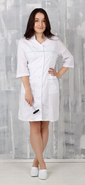Медицинский халат женский арт. Кокетка