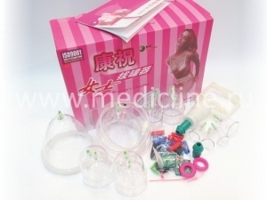 Набор для вакуум-массажа C1×14 M (B Series Cupping + Female Cupping).