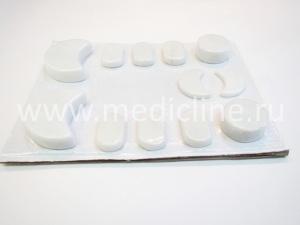 Набор для холодного массажа (Cold massage marble spa stone 12 pcs/set).