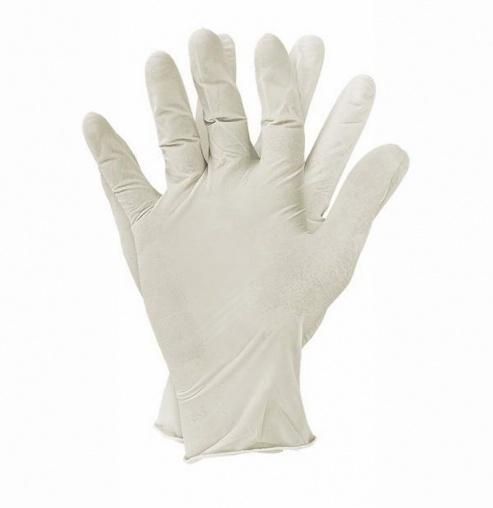 Одноразовые перчатки (латексные)