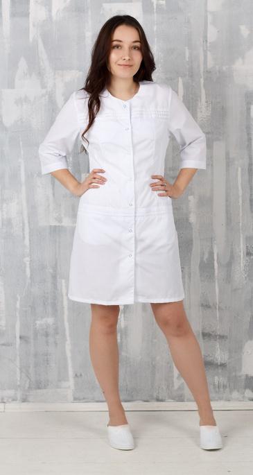 Медицинский халат женский арт. Моника