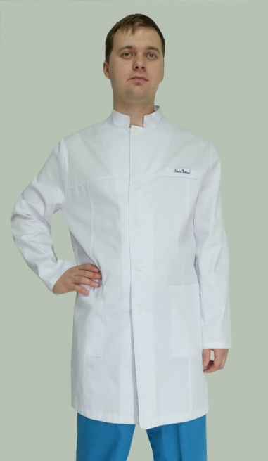 Медицинский халат мужской арт. Nota Bene 001