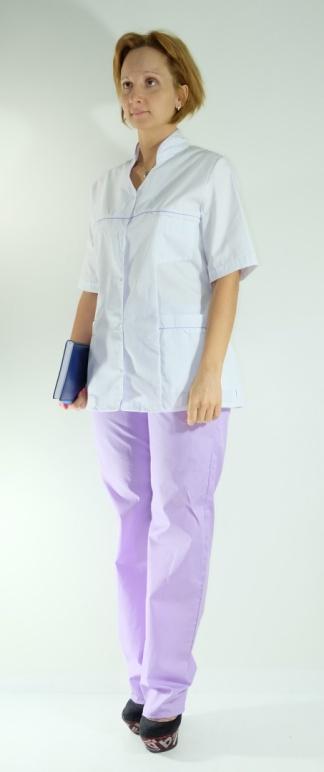 Медицинский костюм женский арт. Кокетка