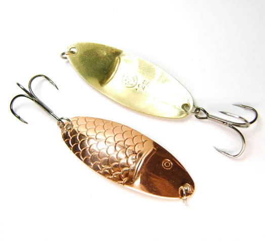 Spoon-bait for summer catching «Chernospinka»