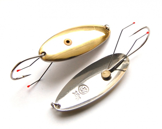 Snag-free spoon-bait «Schuchya» with single hook