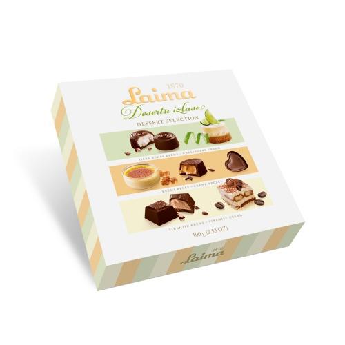 Конфеты шоколадные «Ассорти десертов» 100г (акция)