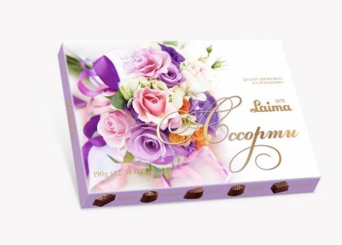 Ассорти конфет 190г «Лиловый букет»