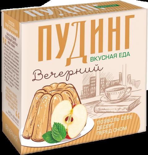 Сухой десерт «ЧИА ПУДИНГ» ВЕЧЕРНИЙсмятой ияблоком (2 пакетикапо28г)