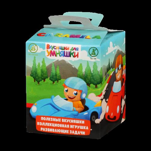 Детский набор «Вкусняшки для умняшки» Машинки (8 штук по50г)