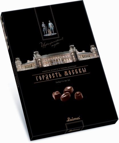 Ассорти конфет втемном шоколаде «Царицыно» 360г.