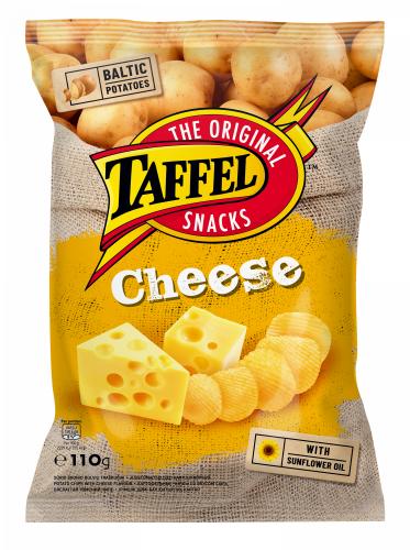 Картофельные чипсы «Taffel» совкусом сыра 110г