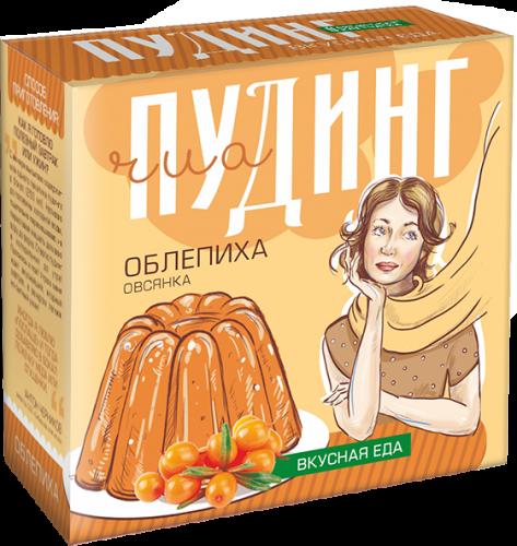 Сухой десерт «ЧИА ПУДИНГ» соблепихой (2 пакетикапо28г)