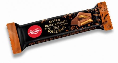 Шоколад молочныйсРижским бальзамом 44г