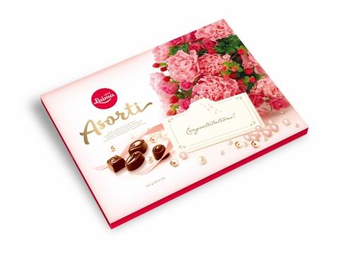 Ассорти конфет втемном шоколаде «Подарочная» 720г