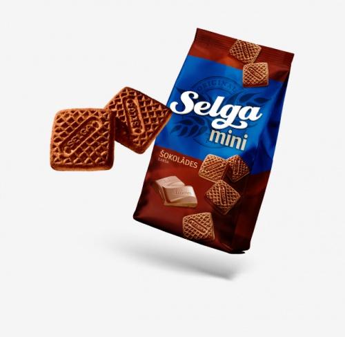 Печенье Selga mini (Селга мини) вовкусом шоколада (мини) 250г