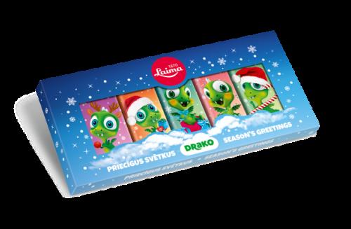 НГНабор молочного шоколада «Drako» (5 штук по20г)