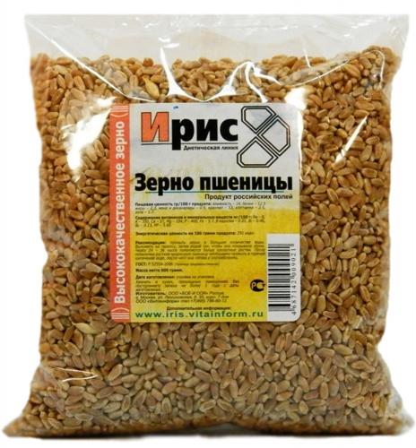 Зерно пшеницы 250г ТМ«Ирис»