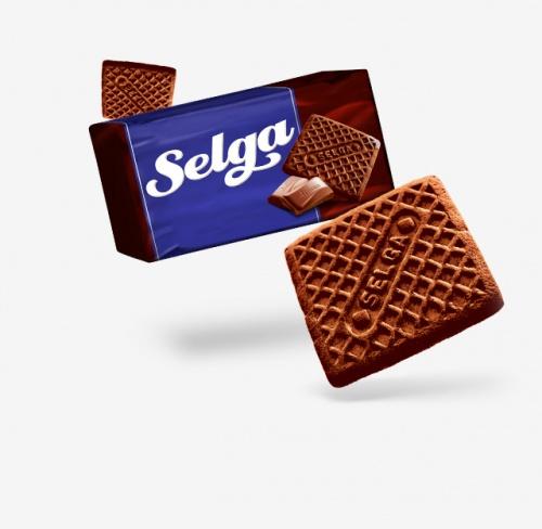 Печенье Selga (Селга) совкусом шоколада180г