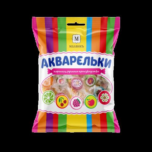 Леденцовая карамель «АКВАРЕЛЬКИ» Ассорти 250г