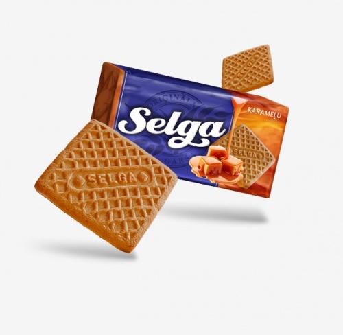 Печенье Selga (Селга) совкусом карамели180г