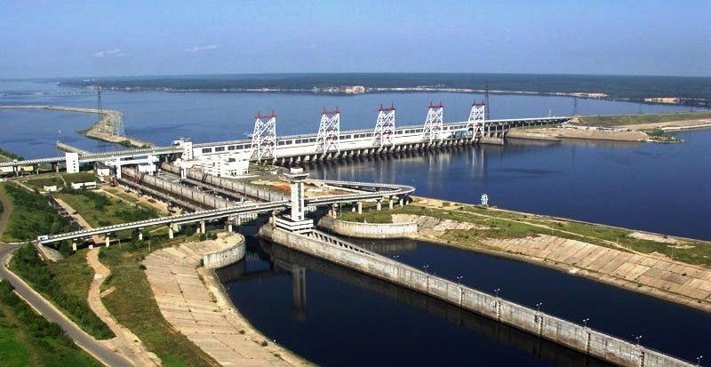 Проведение работ на Чебоксарской ГЭС