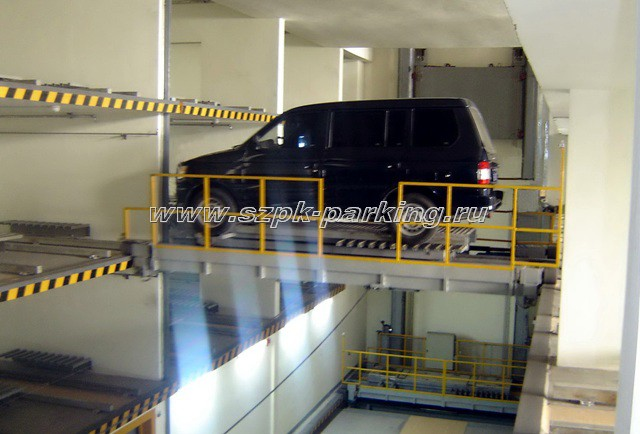 механизированная автоматическая парковочная система