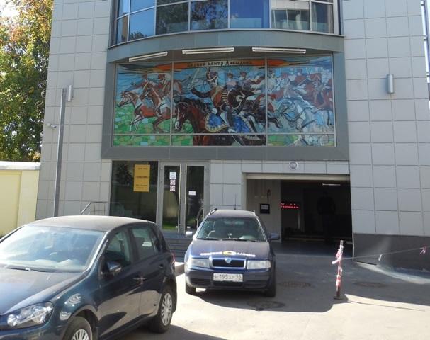 Двухуровневый паркинг стеллажного типа, БЦ на Московском проспекте